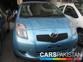 2006, Sky Blue Toyota Vitz (Petrol ) For Sale, Karachi, By: Faheem Uddin  (Dealer)