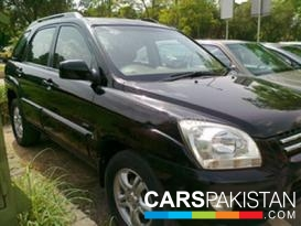 2007, Black Kia Sportage (Diesel ) For Sale, Islamabad, By: asfand amin   (Private Seller)