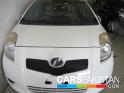 2006, White Toyota Vitz  For Sale, Unregistered, Registered Number From Lahore