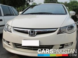 2010, White Honda Civic (Petrol ) For Sale, Lahore, By: Tariq Ehsan  (Private Seller)