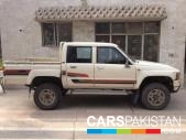 Toyota HILUX (D-CABIN) for sale located in Lahore