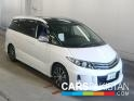 2012, White Toyota Estima  For Sale, Unregistered, Registered Number From Karachi
