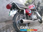 Honda CG 125 1997 for sale Lahore
