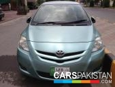 Toyota Belta for sale located in Gujrat