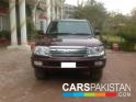 2002, Maroon Toyota Land Cruiser  For Sale, Islamabad, Registered Number From Islamabad