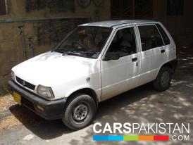 2003, White Suzuki Mehran (Petrol / CNG ) For Sale, Karachi, By: Shaikh kabeer  (Private Seller)