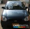 2007, Blue Metallic Hyundai Santro Prime GV For Sale, Karachi, Registered Number From Karachi