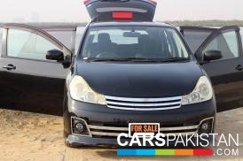 2006, Black Metallic Nissan Wingroad (Petrol ) For Sale, Karachi, By: Danial Hussain  (Private Seller)