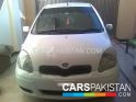 2002, White Toyota Vitz  For Sale, Rawalpindi, Registered Number From Islamabad