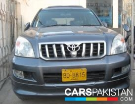 2003, Gun Metallic Toyota Prado (Petrol ) For Sale, Karachi, By: Humair Ahmed  (Dealer)