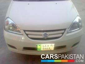 2006, White Suzuki Liana (Petrol / CNG ) For Sale, Lahore, By: Chaudhry Faisal  (Private Seller)